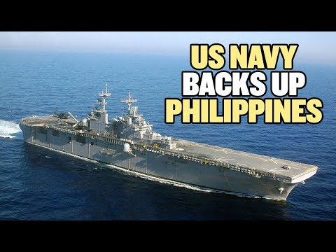 US Warship and Fighter Jets Back Philippines in South China Sea | China Uncensored