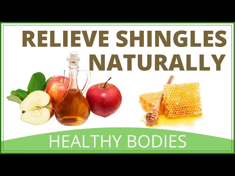 shingles-pain-relief-apple-cider-vinegar-and-honey
