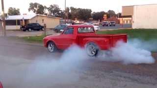 1968 GMC blown 454 burnout