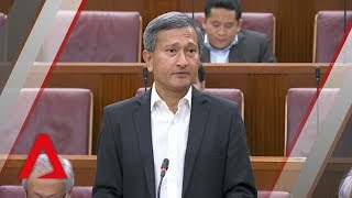 Singapore won't allow foreign govt vessels to assert authority in its waters: Vivian Balakrishnan