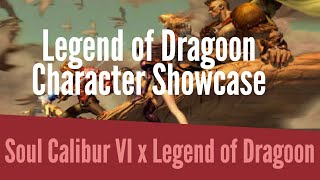 SoulCalibur 6 x Legend of Dragoon - Character Showcase
