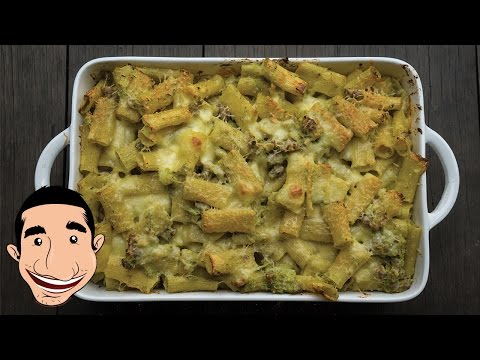 Amazing Baked Pasta Recipe with Broccoli and White Sauce