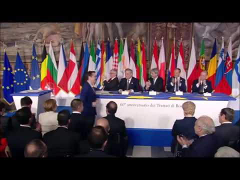 EU Leaders Sign Rome Declaration Marking 60 Years of European Integration