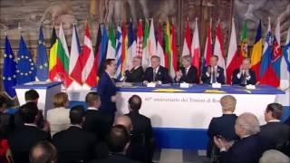 EU Leaders Sign Rome Declaration Marking 60 Years of European Integration