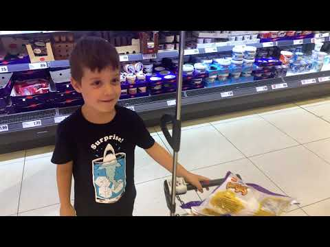 Shopping With Sarah And David At Lidl | Shopping Until The Basket Is Full Challenge.