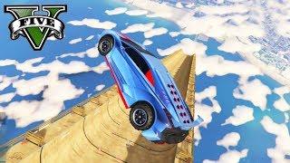 GTA V Online: A SUPER MITADA na MEGA RAMPA DE SKATE!!! ÉPICO