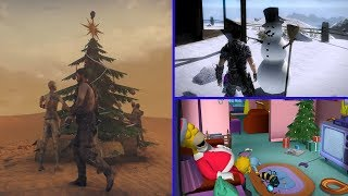 TOP 10 CHRISTMAS Easter Eggs In Video Games