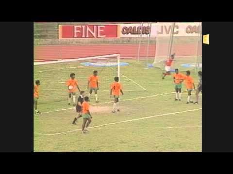 La finale de la Coupe de Calédonie gagnée par Luecilla en 1989