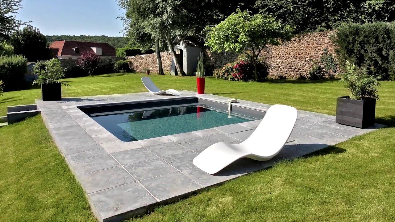Bevorzugt Eigener Pool im Garten von Desjoyaux - YouTube CE71