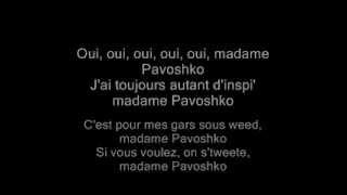 Repeat youtube video Black M -Mme Pavoshko (Karaoké)