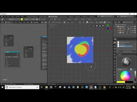 Blender Layered Texture Paint Tutorial - YouTube