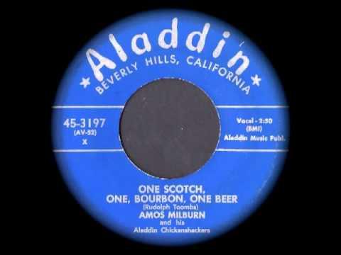 Amos Milburn - One Scotch, One, Bourbon, One Beer