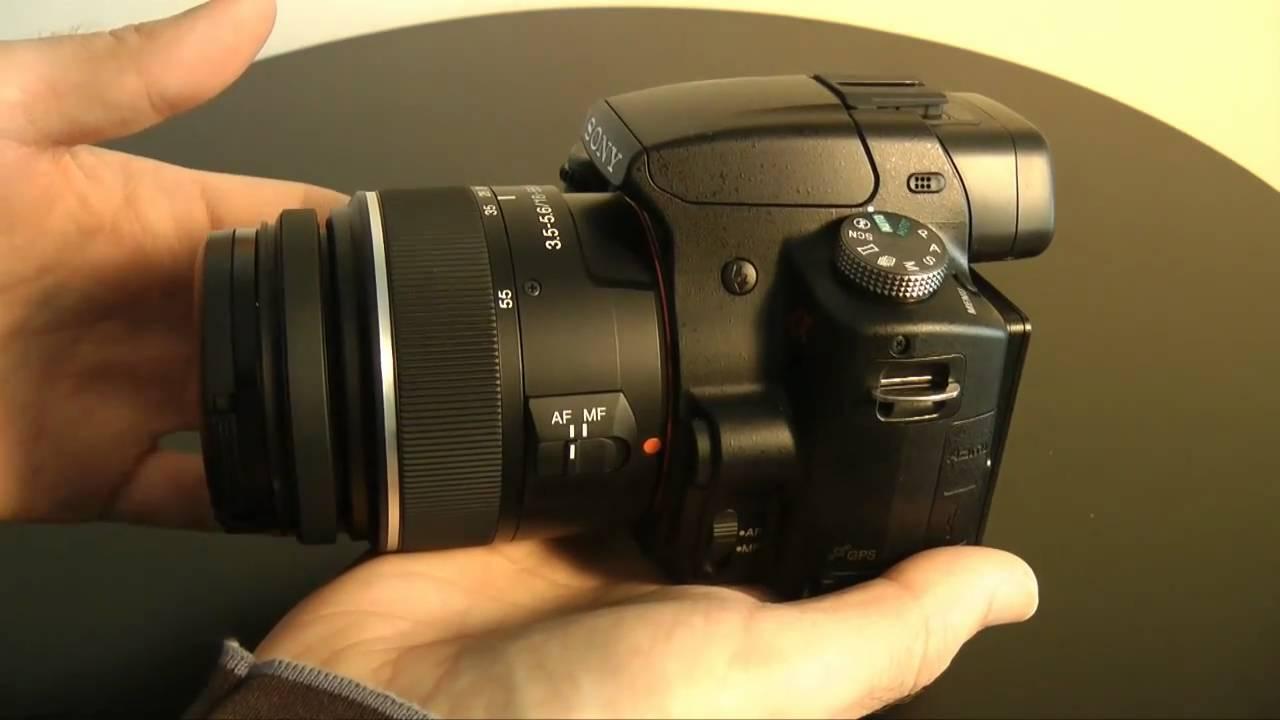 Sony Alpha SLT-A55 VL Digital SLR Camera Review