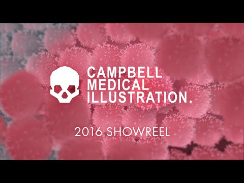 Campbell Medical Illustration 2016 Animation Generalist Demo Reel