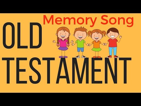 Old Testament Books of the Bible Song for Kids