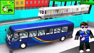 Johny Shows ROBLOX MTA Drivers Rebuilt Subway Trains & MTA Bus
