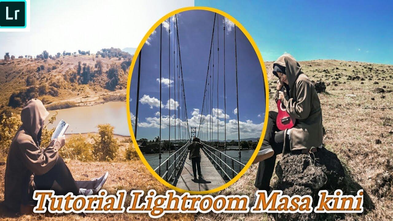 Tutorial lightroom edit foto ala selebgram #part2 - YouTube