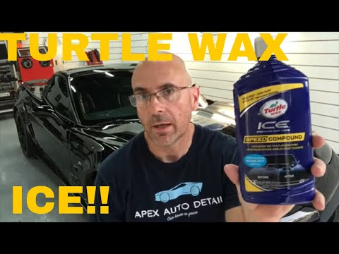 Has TURTLE WAX Done It Again? Turtle Wax Ice Speed Compound!!!