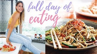 WHAT I EAT IN A DAY ||  Eating intuitively