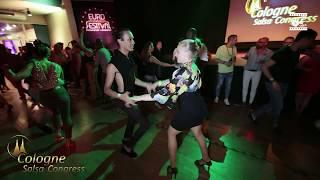 Eloy J Rojas & Di Ax - social dancing @ Cologne Salsa Congress 2019