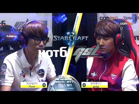 Trust vs jjakji PvT Code A Day 5 Match 1, 2015 HOT6 GSL Season 3   StarCraft 2