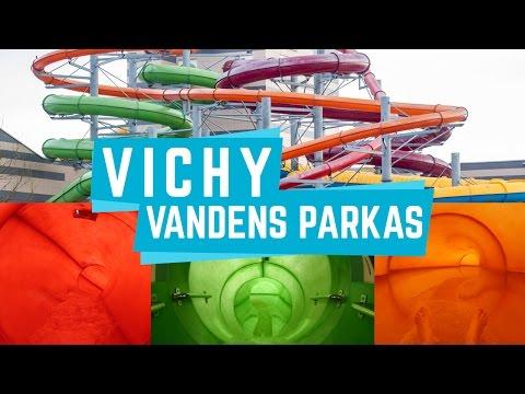 All Water Slides at Vichy Vandens Parkas, Vilnius Lithuania Onride POV