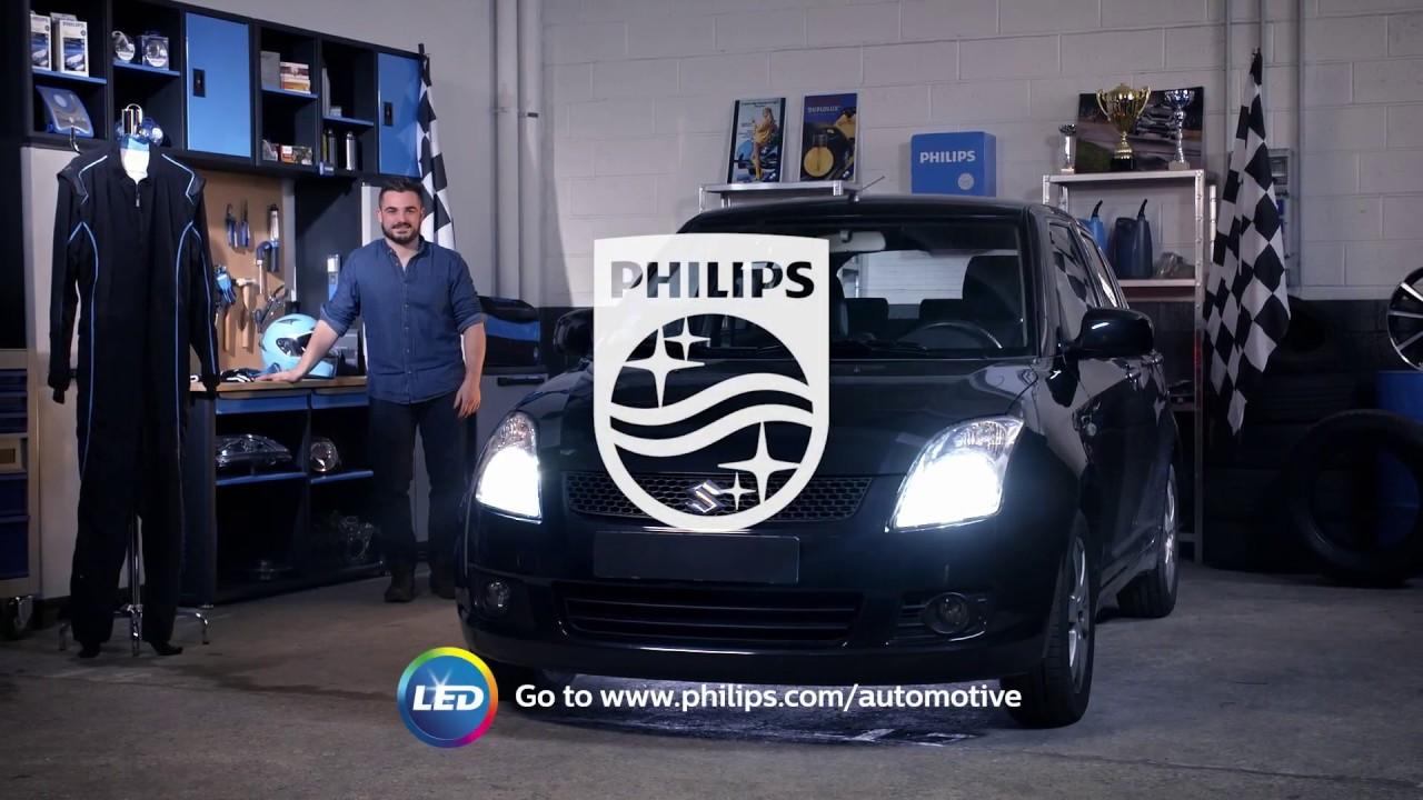 How to replace headl&s on your Suzuki Swift with LED retrofit bulbs - Philips automotive lighting & How to replace headlamps on your Suzuki Swift with LED retrofit ... azcodes.com