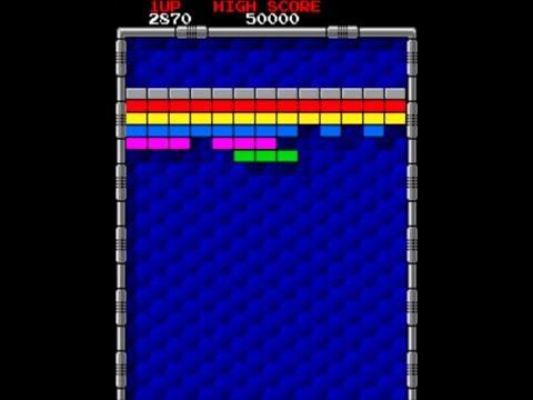 Arkanoid - Retro Arcade Game 1986