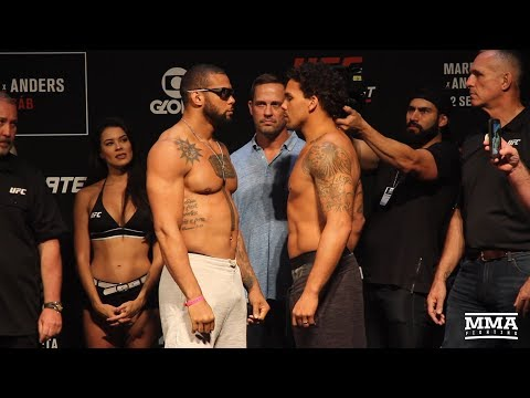 UFC Sao Paulo Ceremonial Weigh-In Staredowns - MMA Fighting