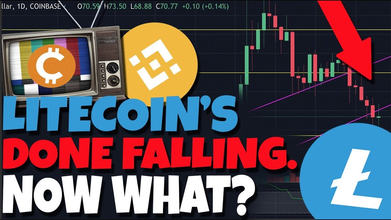 why litecoin is falling today