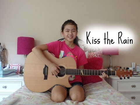 Kiss The Rain ~ Yiruma ~ Fingerstyle Guitar Cover Recorded with iSolo Mic ~ Lanvy