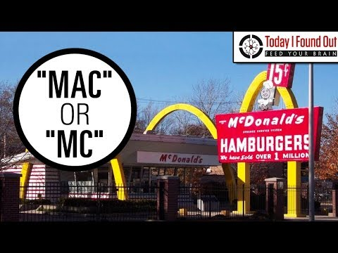 "Why Do ""Mac"" and ""Mc"" Surnames Often Contain a Second Capital Letter?"