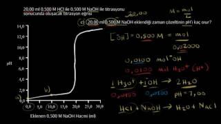 Kuvvetli Asit ve Kuvvetli Baz Titrasyonu (1. Bölüm) (Kimya)