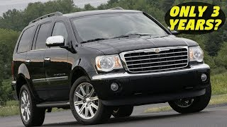 Chrysler Aspen – History, Major Flaws, & Why It Got Cancelled So Fast! (2007-2009)