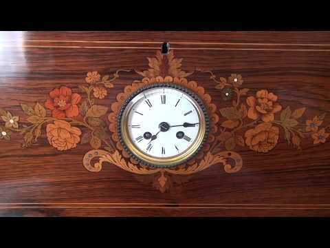 Museum Quality: Antique Music Box with Clock