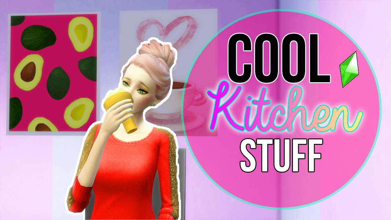 Reuploaded Let 39 S Play The Sims 4 Cool Kitchen Stuff