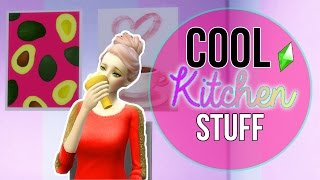 (REUPLOADED)Let's Play The Sims 4: Cool Kitchen Stuff || Overview, Review, and Gameplay!