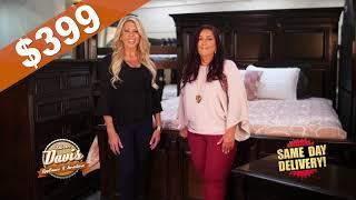 Save On Bedroom Sets At Davis Appliance & Furniture
