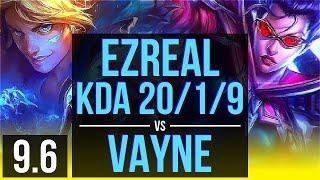 ezreal morgana vs vayne zilean adc kda 2019 legendary br master v96