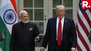 Pm Modi Andamp Us President Trump Hold Telephonic Conversation Discuss Pakistanand39s Terror-mongering