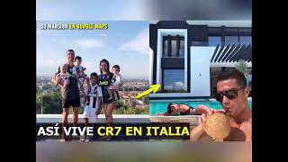 CRISTIANO RONALDO s house in Italy it s amazing