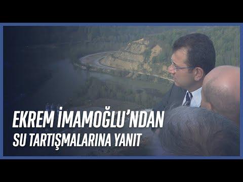 İBB Başkanı Ekrem İmamoğlu'ndan İstanbul'daki Su Tartışmalarına Yanıt