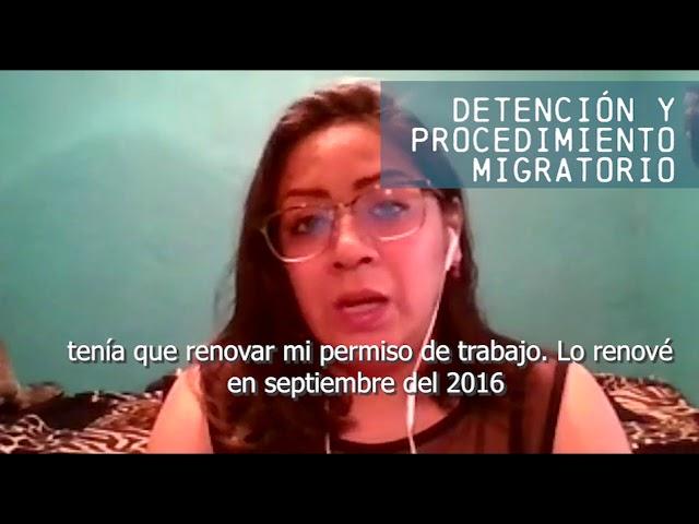 Desafiando Fronteras | Detención y procedimiento migratorio