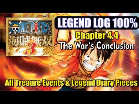 One Piece Pirate Warriors 3 - Legend Log 100% - Chapter 4.4