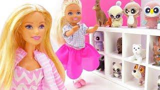 Барби и Челси в зоомагазине - Мультики для девочек. Барби в ToyClub