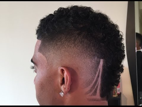 How To: Curl Hawk Fade | By: Chuka The Barber