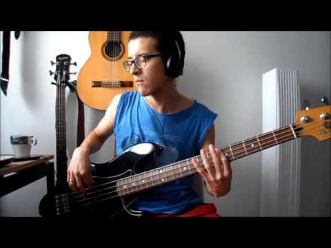 The Rolling Stones - Out of Control [bass cover]