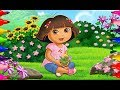 Rainbow Colouring| How to Color DORA THE EXPLORER Coloring Book for kids Girls|Learning Fun Art