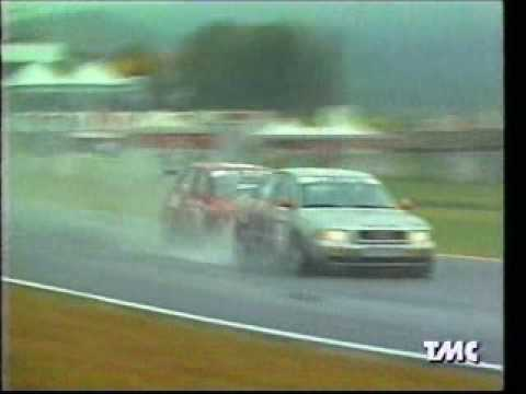 Fabrizio Giovanardi (Alfa 155) vs Karl Wendlinger (Audi A4) - Super T 1997