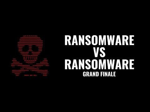 Ransomware vs Ransomware Grand Finale